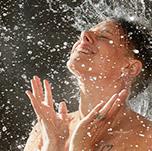 Bucket showering image